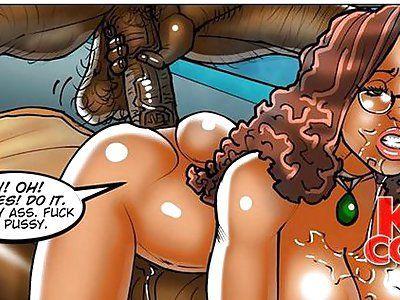 Ooh Cartoon Ebony Porn