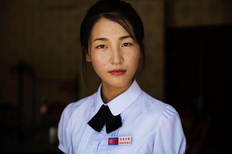 nake korea girl